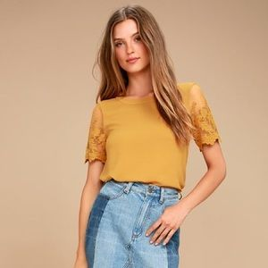 Lulu's Lisa Marie embroidered Top